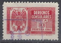 Derechos Consulares 141 (o) Aguila. 1940 - Fiscales