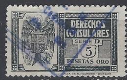 Derechos Consulares 168 (o) Aguila. 1940 - Fiscales