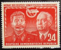 ALLEMAGNE Rép.démocratique               N° 49                    NEUF* - [6] République Démocratique