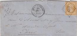 LETTRE. 20 MAI 58. IVRY S SEINE PC 1564  / 4 - 1849-1876: Classic Period