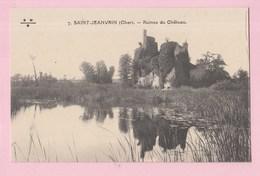 18 SAINT JEANVRIN Ruines Du Chateau - France