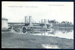 Cpa Du 71 St Romain Des Iles Pont Et Parisien    YN1 - Altri Comuni