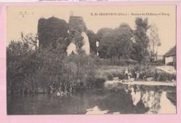 18 SAINT JEANVRIN Ruines Du Chateau Et étang - France