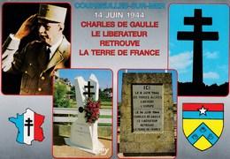 COURSEULLES-sur-MER. Général CHARLES DE GAULLE - Courseulles-sur-Mer
