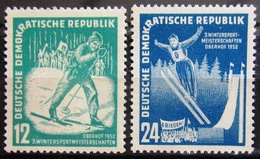 ALLEMAGNE Rép.démocratique               N° 50/51                    NEUF* - [6] République Démocratique