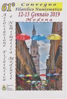 61° Convegno Filatelico-Numismatico A Modena - Manifestazioni