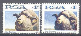 Afrique Su Sud: Yvert N° 335**; Mérinos; Les Deux Variétés - Afrique Du Sud (1961-...)