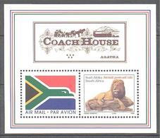 Afrique Su Sud: Yvert N° BF 51**; Lion - Blocs-feuillets
