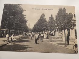 Ansichtkaart, Zandvoort, Groote Krocht, 13 Juni 1938, Met Stempel Datum - Zandvoort