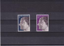 GB 1972 NOCES D'ARGENT Yvert 672-673 NEUF** MNH - Neufs