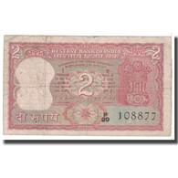 Billet, Inde, 2 Rupees, KM:52, B - Inde