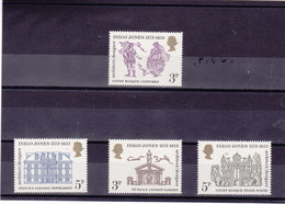 GB 1973 INIGO JONES Yvert 691-694 NEUF** MNH - Neufs