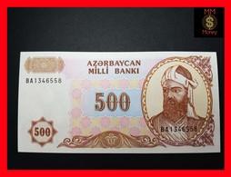 AZERBAIJAN 500 Manat 1993 P. 19 B UNC - Azerbaïjan