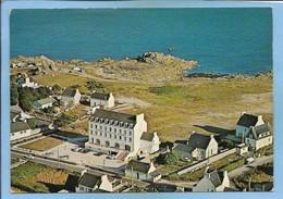 """(Plobannalec)-Lesconil (29) Pays Bigouden La Plage Des Dunes 2 Scans 1978 Flamme De Lesconil """"Grand Hôtel Des Dunes"""" - Lesconil"""
