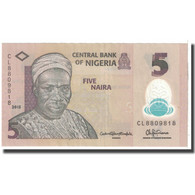 Billet, Nigéria, 5 Naira, 2015, KM:38, TTB - Nigeria