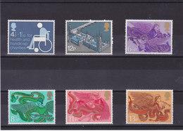 GB 1975 Yvert 746 + 764 + 770-773 NEUF** MNH - Neufs