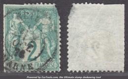 *RARE* 2c Sage Type I (N/B) à 15€ ! (Y&T N° 62, Cote 340€€) - 1876-1878 Sage (Type I)