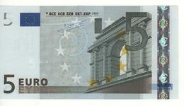 "5 EURO  ""P""  Olanda     Firma Trichet     E 004 J5  /  FDS - UNC - EURO"