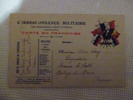 CORRESPONDANCE MILITAIRE  - Au Coq - Oorlog 1914-18