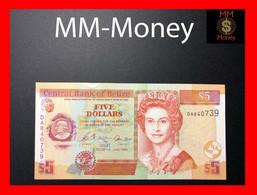 BELIZE 5 $   1.6.2003  P. 67 A  UNC - Belize