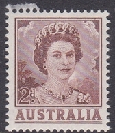 Australia ASC 342  1962 Queen Elizabeth II Definitives 2d Red Brown, Mint Never Hinged - Mint Stamps