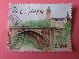 Timbre France YT 3627- Capitales Européennes - Luxembourg - Pont Adolphe - 2003 - France
