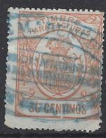 Facturas Y Recibos 09 (o) Corona Real. 1920 - Fiscales