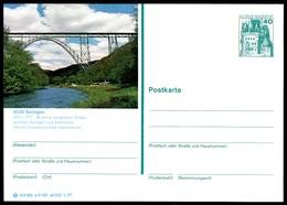 77458) BRD - P 124 - E9/127 - * Ungebraucht - 5630 Solingen, Müngstener Brücke - [7] West-Duitsland