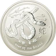 Monnaie, Australie, Elizabeth II, Dollar, 2013, Perth, Year Of The Snake, SPL - Monnaie Décimale (1966-...)