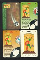 OMAN Arabian Gulf Football Cup Lot 4 Phonecard Phonecards Communication Tele Telephone - Oman