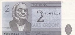 Estonie - Billet De 2 Krooni - K. E. Von Baer - 1992 - Estonie