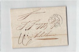 15204 01  BERNE TO 1837 WITH TEXT - Svizzera