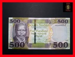 SOUTH SUDAN 500 Pounds 2018 P. NEW UNC - South Sudan