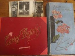 CARTES POSTALES ANCIENNES Et SEMI-MODERNES: 2 CLASSEURS (564 Cartes) FRANCE-VILLES-PAYSAGES 1900-1950 - 500 CP Min.