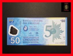 URUGUAY 50 Pesos Uruguayos 2017 P. NEW  *COMMEMORATIVE* POLYMER UNC - Uruguay