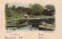AK Gruss Aus Wien II. - Franz Josefs-Land - 1898 (37455) - Vienna