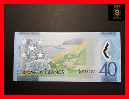 SOLOMON ISLANDS   40 Dollars 2018 P. NEW *COMMEMORATIVE* POLYMER UNC - Salomonseilanden
