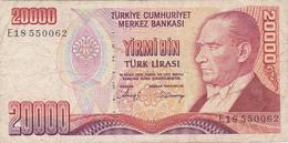 Turquie - Billet De 20000 Lira - 14 Janvier 1970 - Turkey