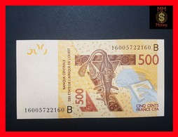 WEST AFRICAN STATES 500 Francs  2016  P. 219 B - Stati Dell'Africa Occidentale