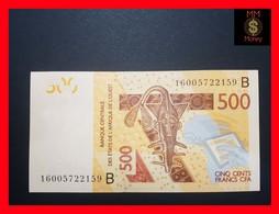 BENIN 500 Francs  2016  P. 219 B - Benin