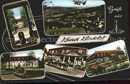 71831341 Bad Bocklet Totalansicht Kuranlagen Details Pferdekutsche Bad Bocklet - Unclassified