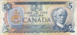 Canada - Billet De 5 Dollars - Laurier - 1979 - Canada