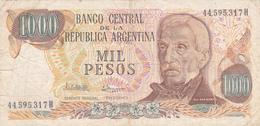 Argentine - Billet De 1000 Pesos - Général San Martin - Argentine