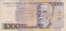 Brésil - Billet De 1000 Cruzados - M. De Assis - Non Daté - Brasil