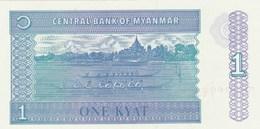 Birmanie - Myanmar - Billet De 1 Kyat - Neuf - Myanmar