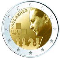 Estonie 2016-Paul Keres UNC - Estonia