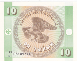 Kirghizistan - Billet De 10 Tiyin - Neuf - Kirghizistan