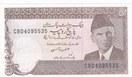 Pakistan - Billet De 5 Rupees - Neuf - Pakistan