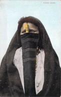 EGYPTE Egypt : Femme Arabe Voilée / Veiled Arab Woman - CPA Colorisée - Ägypten Egitto Egipto - Egypt