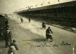 France Circuit De Touraine Grand Prix Motos 500CC Ancienne Photo 1923 - Sports